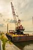 Barge Crane by LaMatto Photography