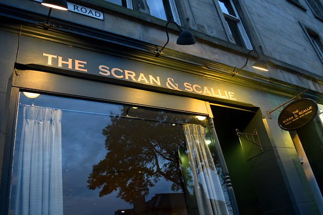 The Scran and Scallie in Stockbridge, Edinburgh | www.rachelphipps.com @rachelphipps