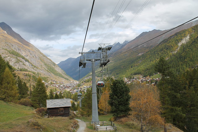 zermatt to furi cable