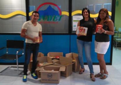 Noticias de ag imes la autoescuela anayet realiza una recogida de alimentos no perecederos a - Banco de alimentos de las palmas ...