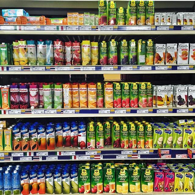 見 到 D 嘢 整 齊 就 好 想 買 ~      �� 強迫症還是少去超市好!~