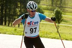 Lukáš Bauer na kolečkách: 2 závody, 120 kilometrů, a pošilhává po MČR v Liberci