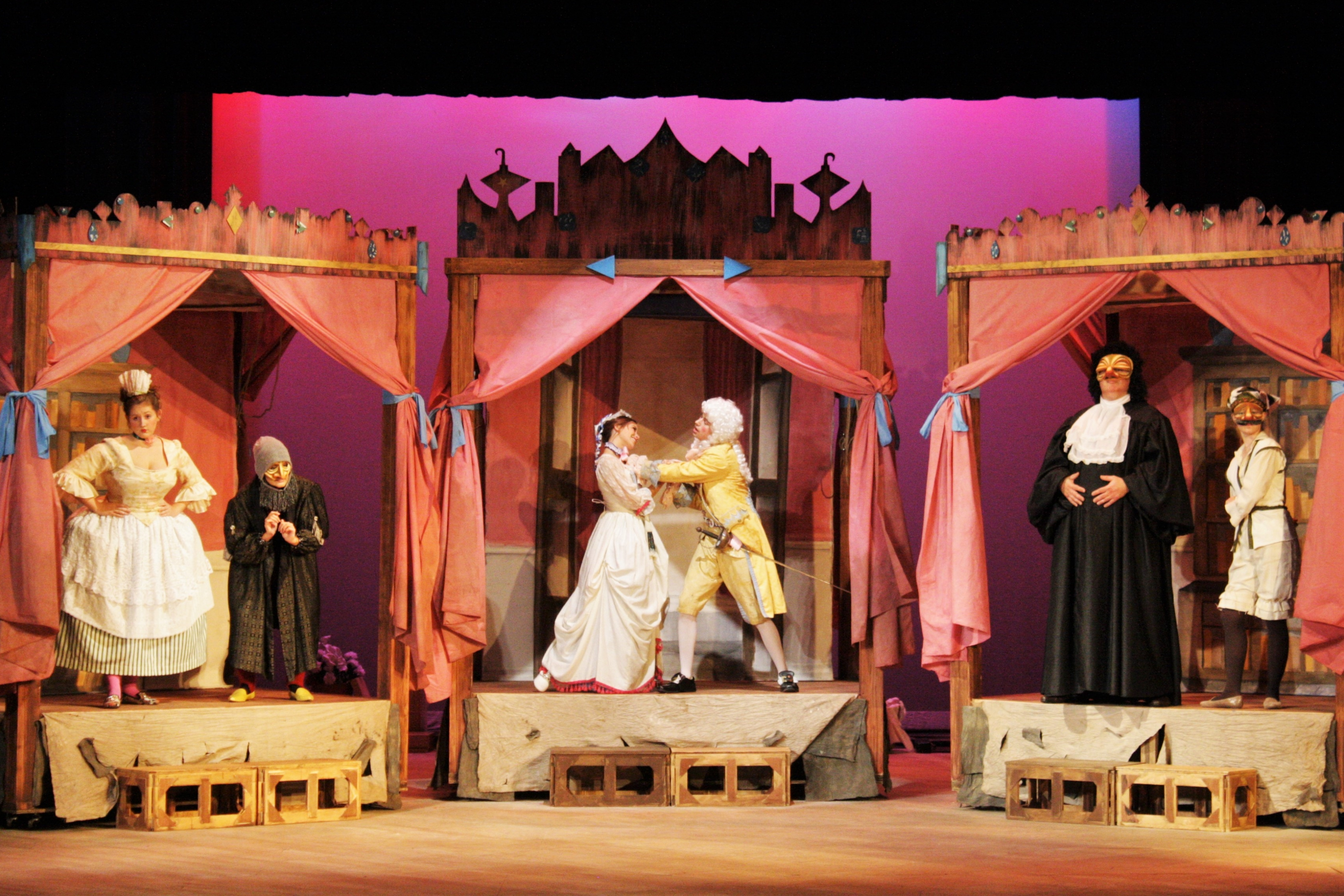 """PHOTO PREVIEW: Belmont's theatre department presents """"The Servant of Two Masters"""""""