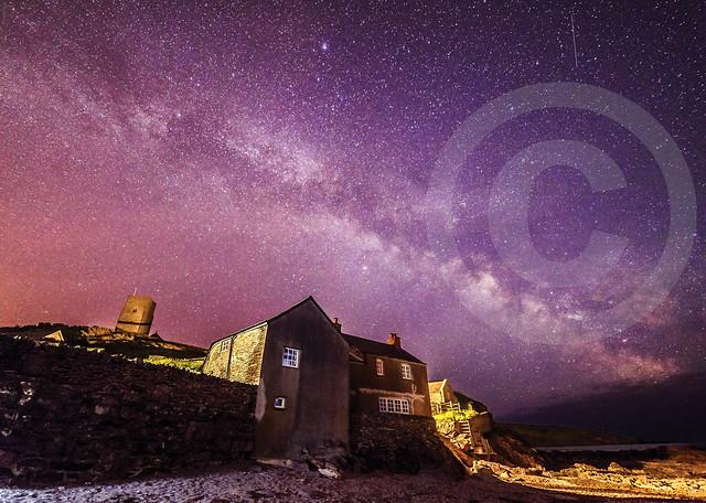 October, Eric McDonald, Wembury Milky Way