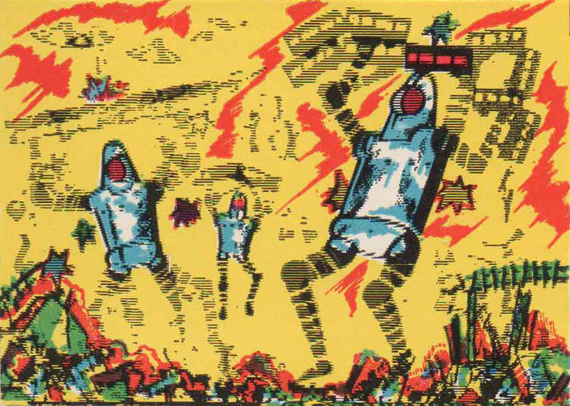 Monster Magic Action Trading Cards (1963) 5