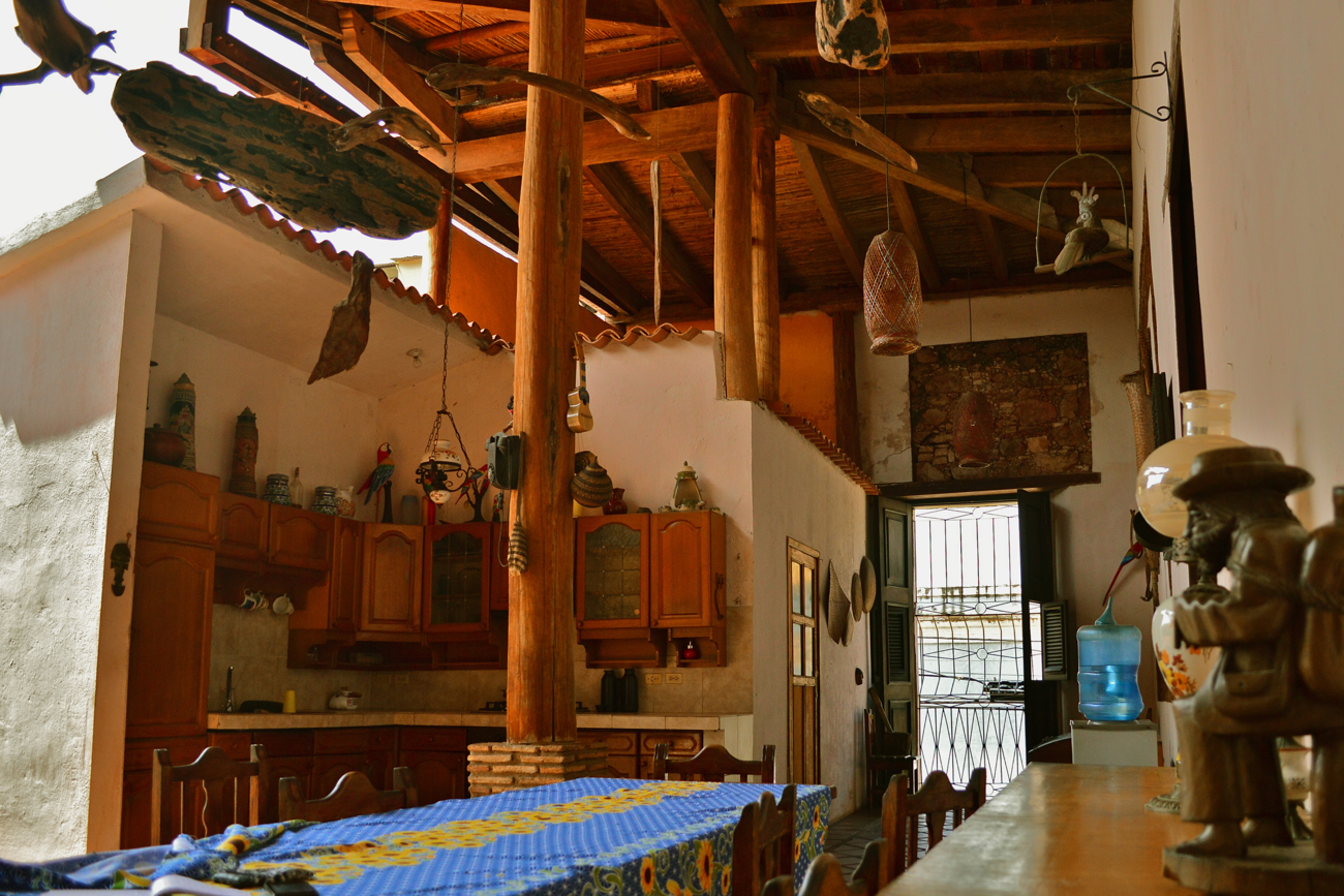 La cocina en Posada Don Carlos