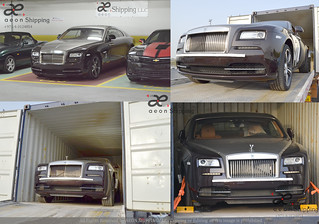 Rolls Royce export form Dubai UAE