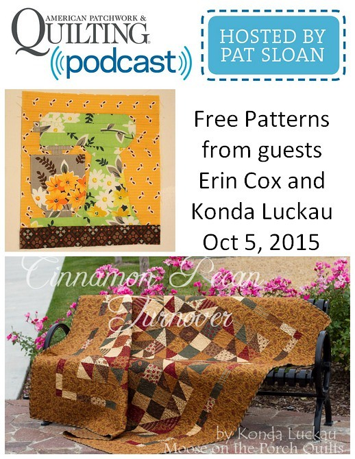1 pat sloan Oct 5 2015 free patterns