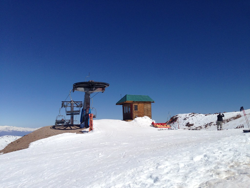 Top of Tortolas Chairlift