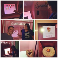 Cupcake ATM. I've seen it all now. Thanks @julieclarsen #latergram