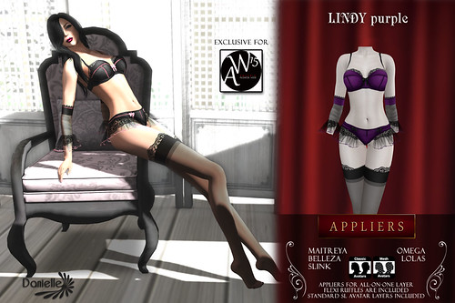 DANIELLE Lindy Purple Appliers And Classic SOLARIS