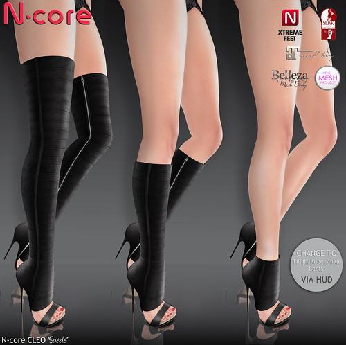 N-core CLEO