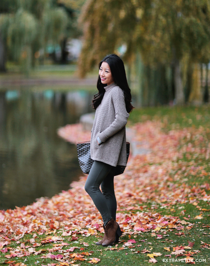 boston public garden fall foliage outfit1