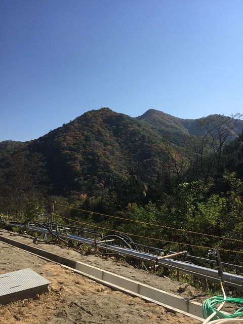 関越自動車道 谷川岳パーキングエリア 下り