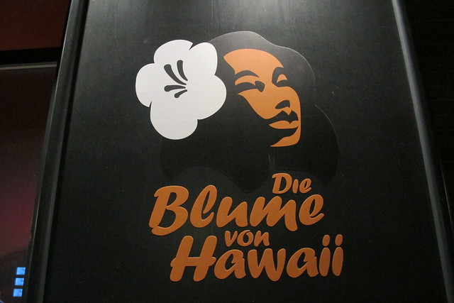 Die Blume von Hawaii logo
