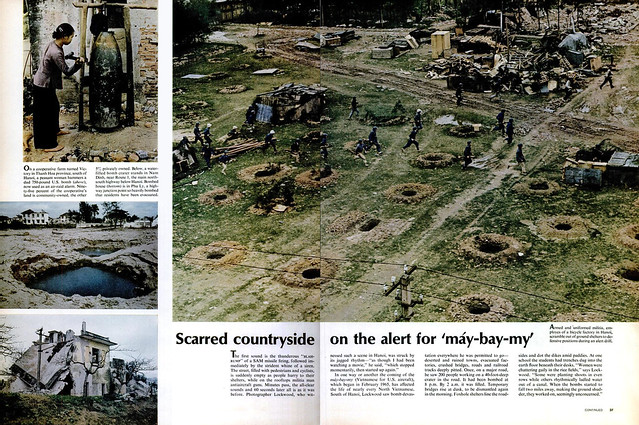 LIFE Magazine April 7, 1967 - NORTH VIETNAM UNDER SIEGE (4)