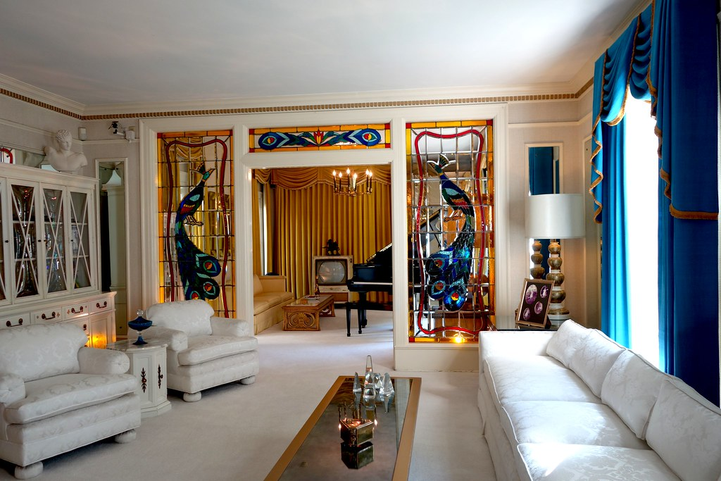 Living Room, Graceland, Memphis, Tennessee