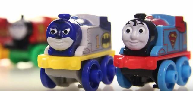 《湯瑪士小火車》70週年紀念迷你火車將推出DC 超級英雄款式!