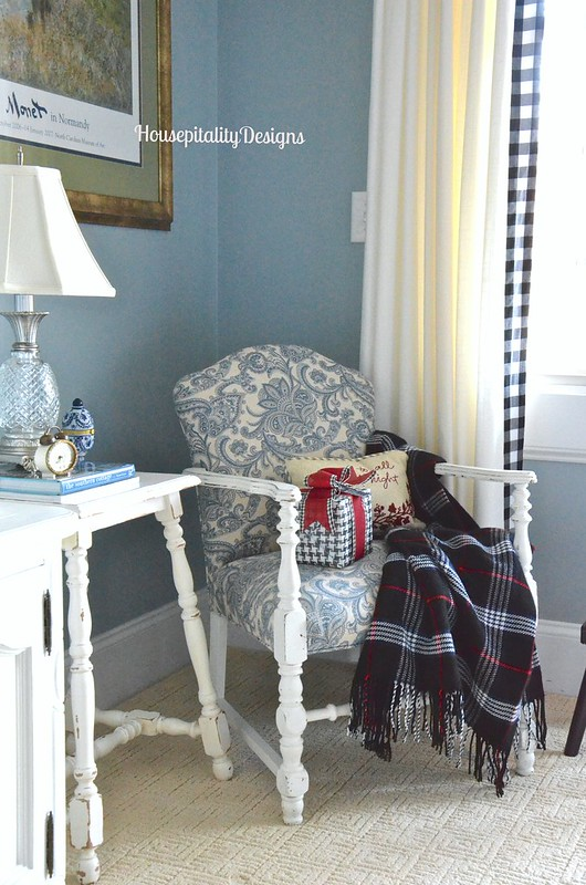 Guest Room Chair - Housepitality Designs