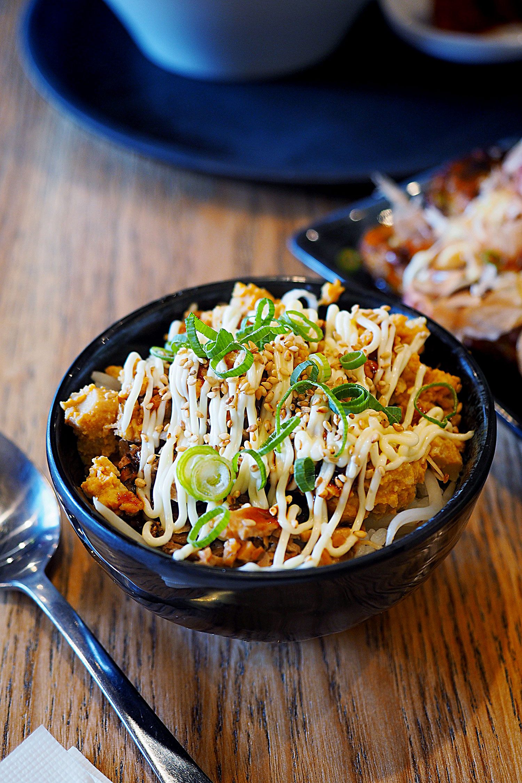 Manpuku mini rice bowl, $3.90. Manpuku, Chatswood: Sydney Food Blog Review