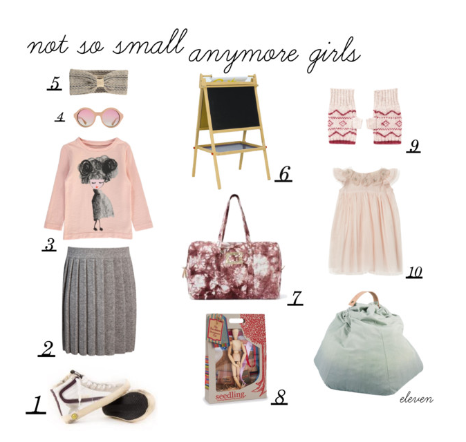 Gift guide 2015 - not so small anymore girls by Paul & Paula