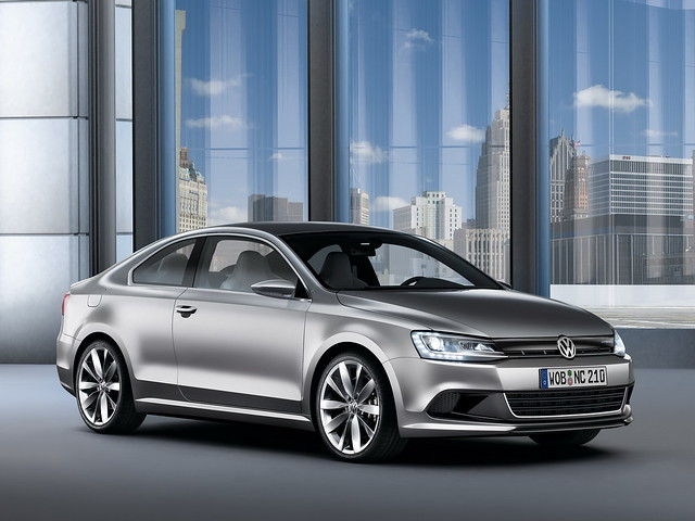 Volkswagen New Compact Coupe Concept. 2010 год