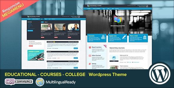 ThemeForest EDU v2.0 - Educational, Courses, College WP Theme