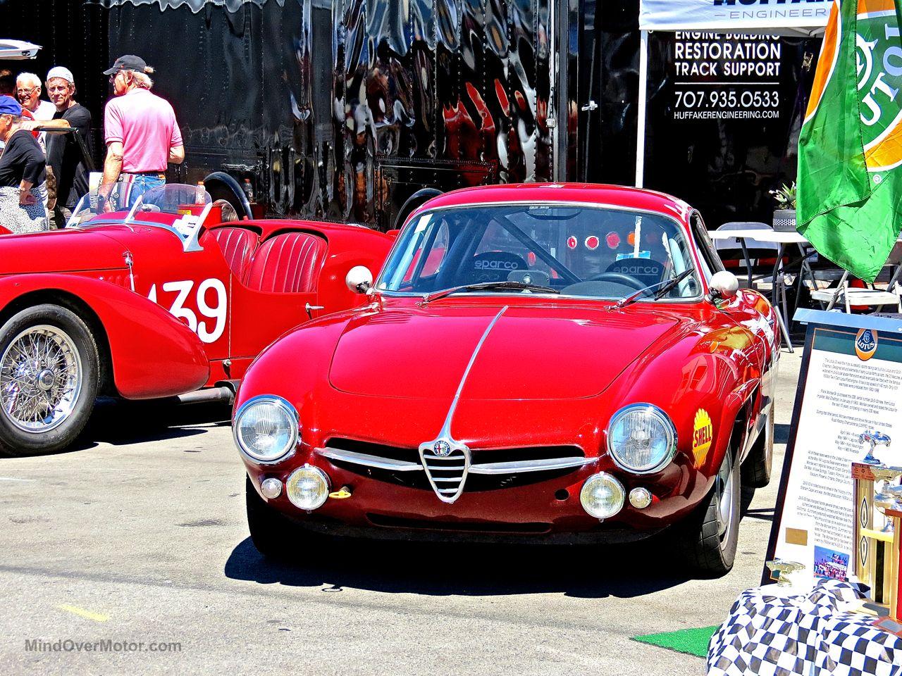 Alfa Romeo Laguna Seca Paddock
