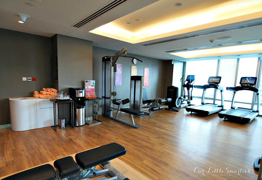 Hotel Jen Orchardgateway gym