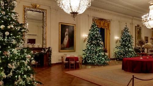 White House Christmas Tour 2015