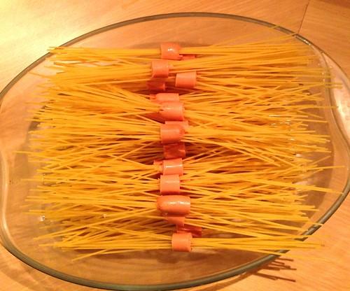 Spaghettis 1: astuces pour agrémenter un déjeuner pour enfants