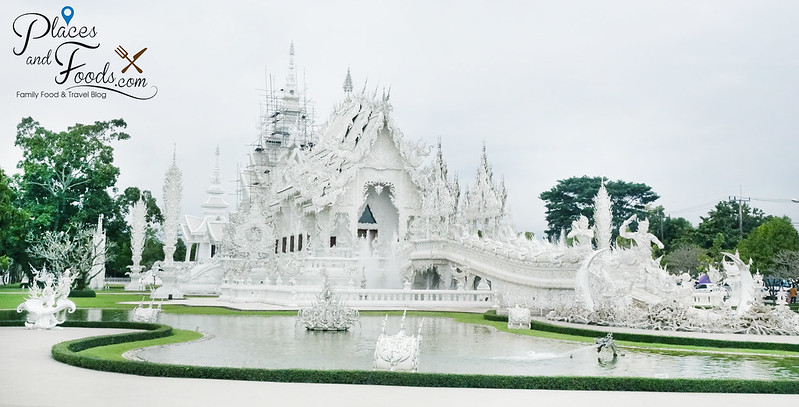 chiang rai white temple side shot