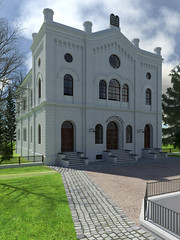 2016 - The Virtual Reconstruction of the Synagogue in Linz