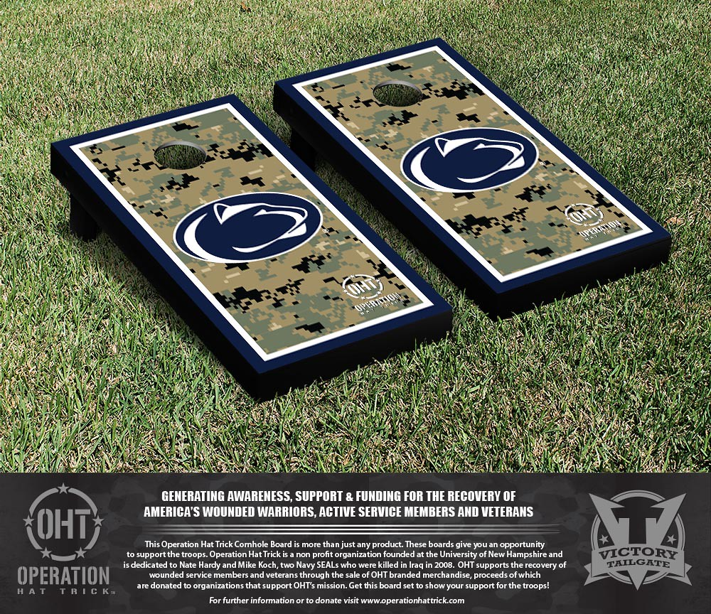 Penn State Nittany Lions Operation Hat Trick Border Version