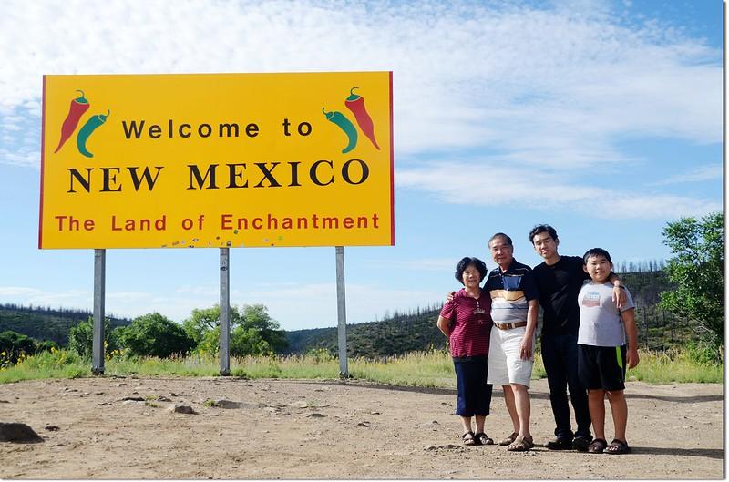 Colorado & New Mexico State Line at I-25