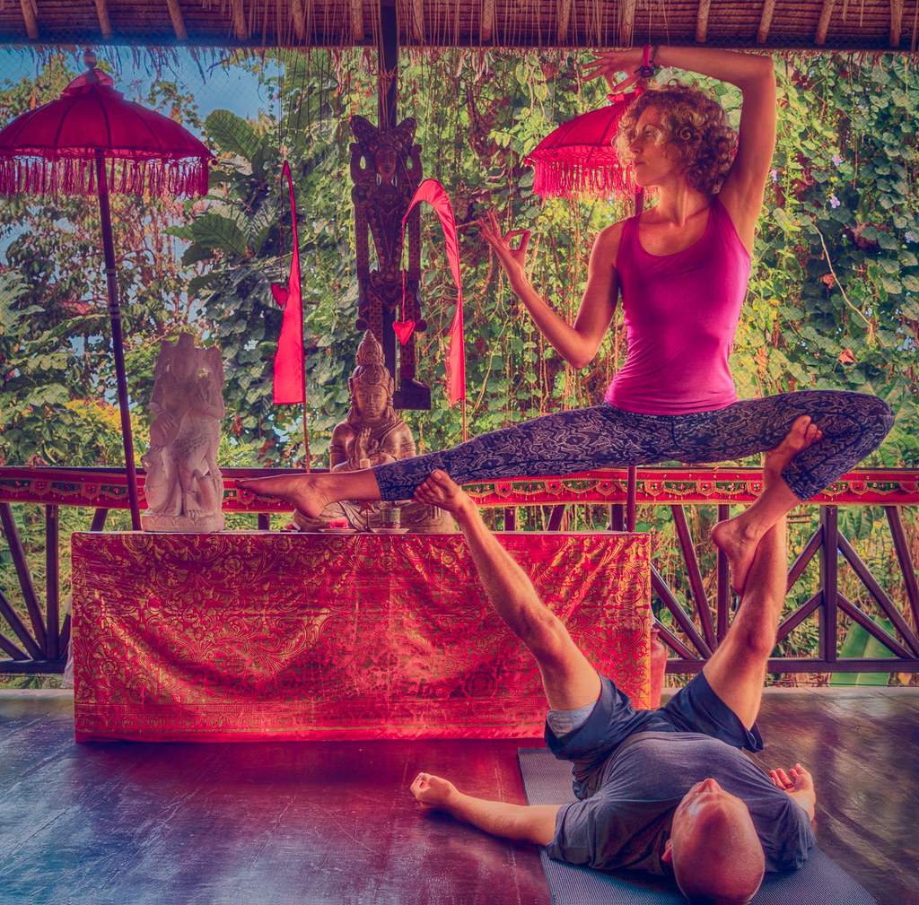 Flexibility Drills in Bali, Indonesia