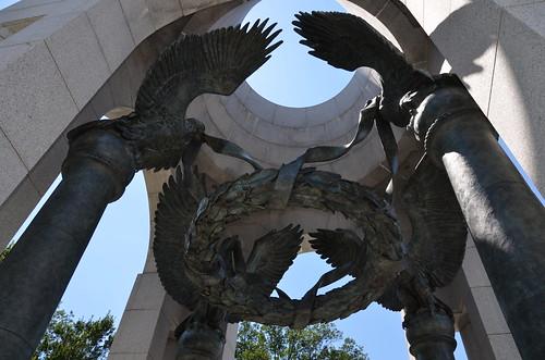 Washington DC WW2 Memorial July 15 4