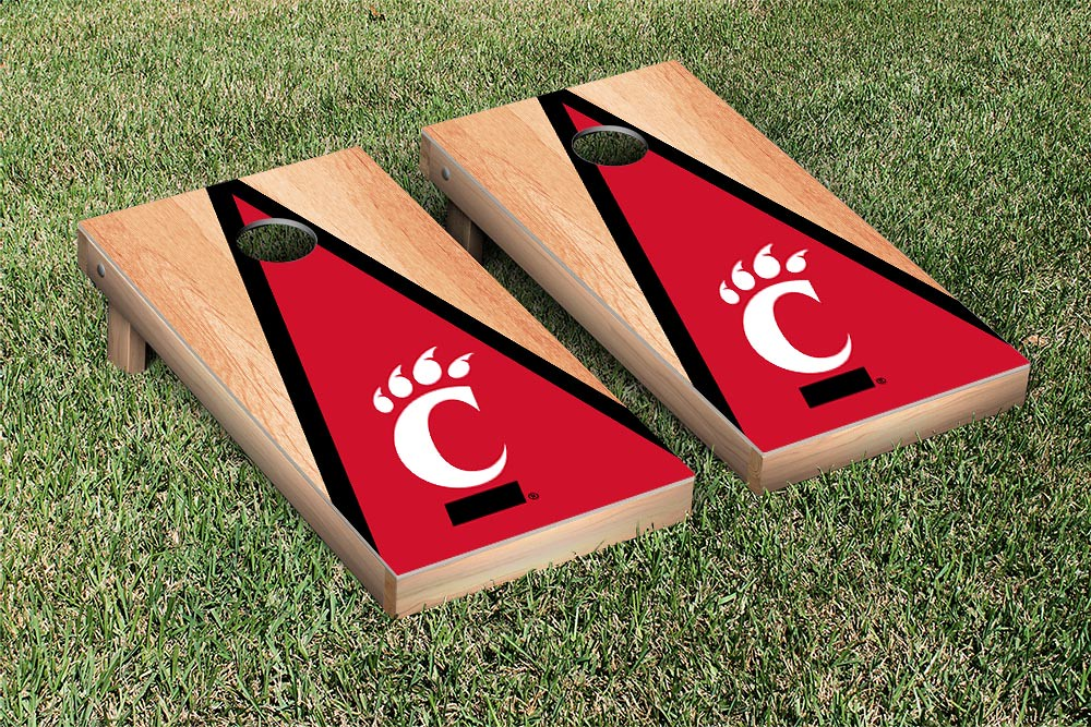 Cincinnati Bearcats Hardcourt Triangle Version