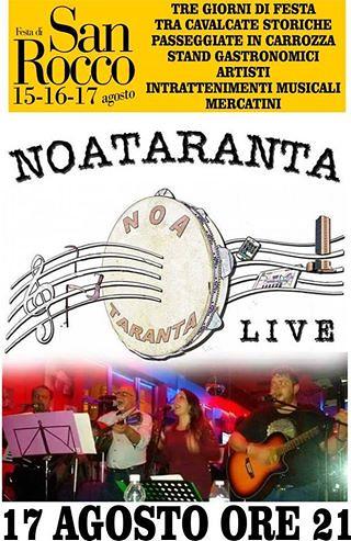 Conversano- Noataranta Live- Festa di San Rocco