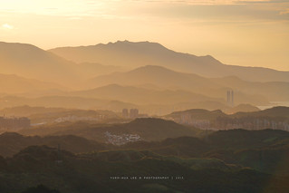 Mountain Community of Jioufen at Sunset │ August. 16, 2015