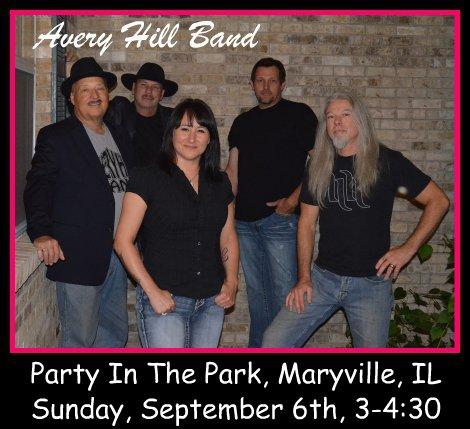 Avery Hill Band 9-6-15