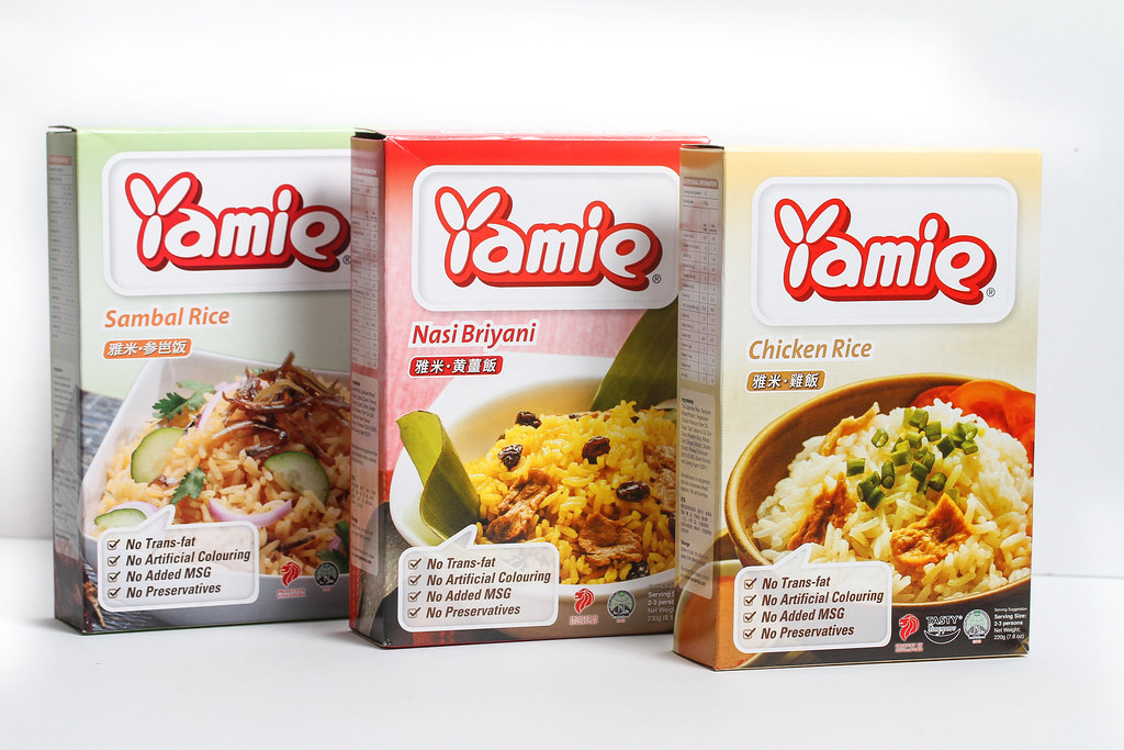 Yamie Rice Packaging