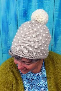 Polka Knot Hat