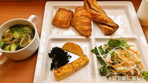 東京ホテル、朝食3日目