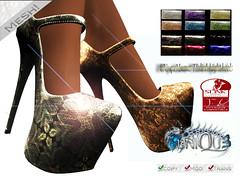 ~Uni-qu3~Lunar Ti high heels