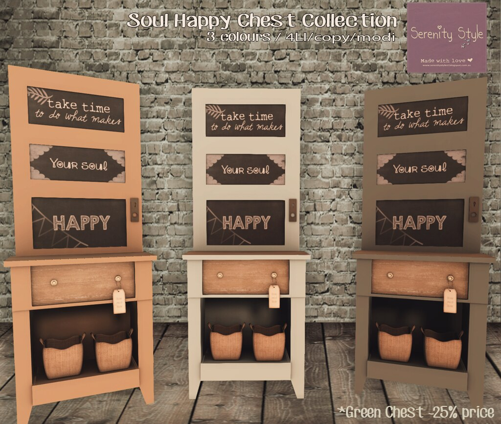 Serenity Style- Soul Happy Chest