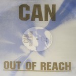 "CAN Out Of Reach Transparent Silver VinYL 12"" LP"