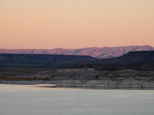 Elephant Butte - sunset