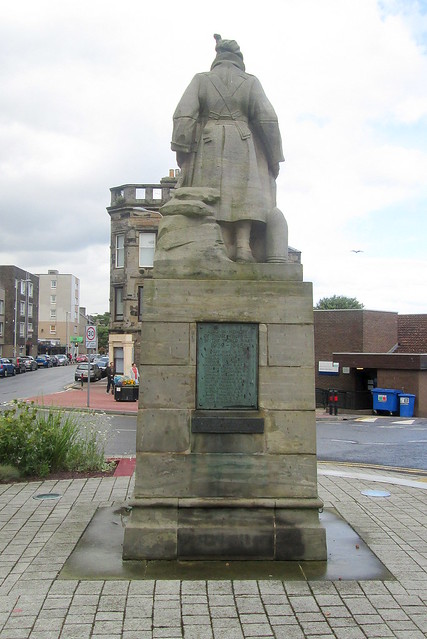 Kinghorn War Memorial Reverse View