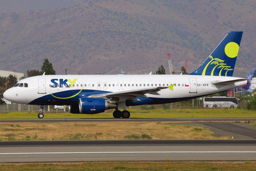 CC-AFX | Airbus A319-111 | Sky Airline